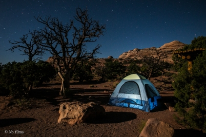 Willow Flat Campground at Canyonlands N.P.
