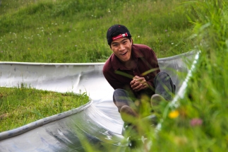 Kevin Gong & the Lucerne Toboggan