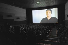 Overtaken screening at the Newport Beach Film Festival in 2012